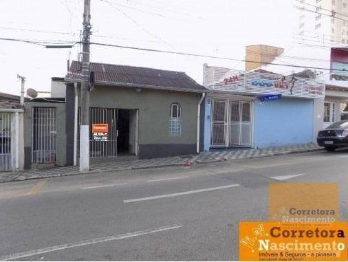 Casa Com 3 Dormitórios Para Alugar, 90 M² Por R$ 1.000/mês - Centro - Jacareí/sp - Ca1515