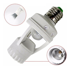 Sensor De Presença P/lâmpada C/foto Celula Iluminação Automa
