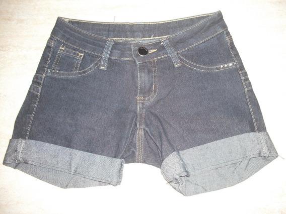 Shorts Jeans Feminino Tam 34 Sawary Usado Bom Estado