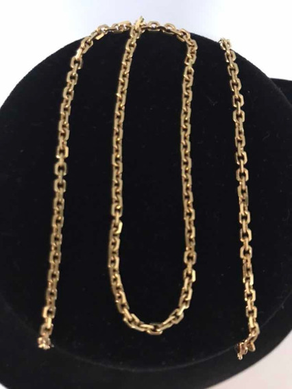 Cordão/corrente Ouro 18k/750- 7,9 G- Elos Cartier- Maciço