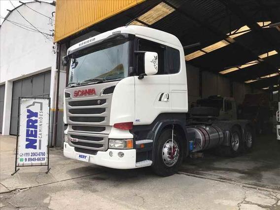 Caminhão Scania R 440 6x2 2014 Un.dono