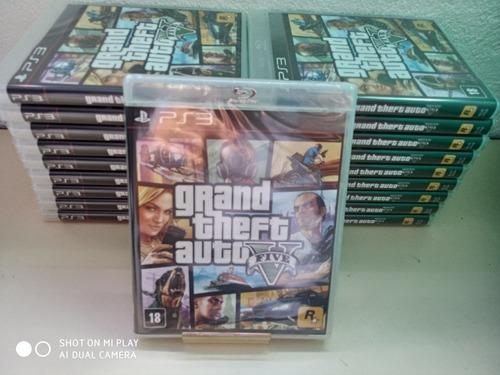 Gta Grand Theft Auto V 5 Ps3 Mídia Física Em Português Novo