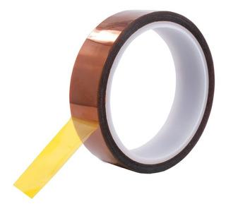 Cinta Kapton Para Sublimar Termica Tape 5 Mm X 30 Mts 55 Mic