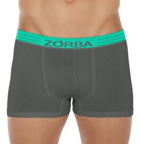 Cueca Boxer Zorba Extreme Seamless Sea Microfibra 845