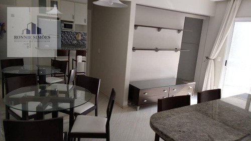 Imagem 1 de 4 de Apartamento Para Alugar Na Vila Olímpia, Mobiliado, 2 Dormitórios Sendo 1 Suíte, Varanda, Cozinha, 2 Banheiros, 1 Vaga Na Garagem, 45 M², São Paulo. - Ap1181