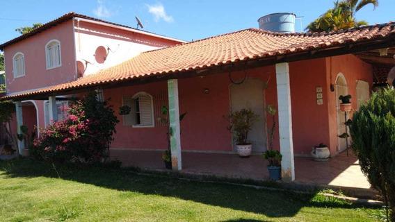 Belíssima Chácara Com 2 Casas Prox Do Asfalto Oportunidade