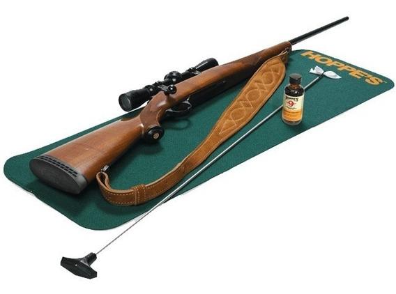 Tapete Especializado Limpieza Armas Rifle Escopeta Hoppe