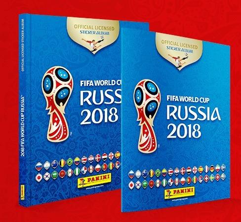 Álbum Copa Rússia 2018 Capa Dura Frete Incluso