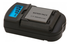 Carregador Bivolt E Veicular Para Baterias Nikon Vivitar