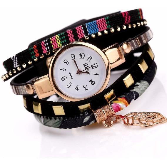 Relógio Feminino De Luxo Banhado A Ouro Rose 3 Modelos