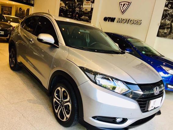 Honda Hrv Exl Cvt 2016 Gris Unico Titular