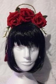 Tiara Rosas Vermelhas