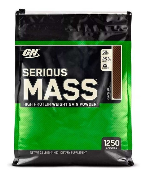 Proteina Serious Mass 12 Lbs De Optimum Nutrition
