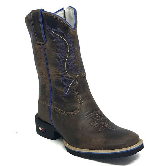 Bota Mr West Infantil B-36 N11 Azul 1474 F. Tabaco - Flex