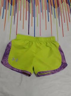 Shorts Under Armour Talla 5años Niña No Nike adidas Reebok