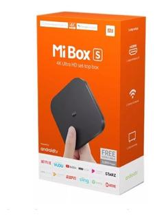 Smart Tv Box Xiaomi Mi Box S 4k 8gb Android Cuotas O