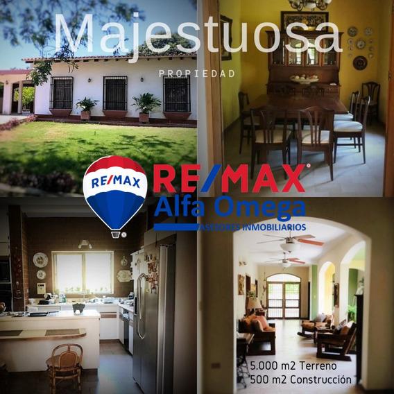 Casa De 450 M2 En Las Charas Con 5 Mil M2 De Terreno