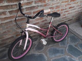 Bicicleta Nena Olimpia Princess R16 Usada Excelente Estado