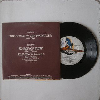 Lp Compacto Flamengo Group 1978 The House Of The Rising Sun