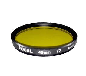 Filtro Amarelo Focal 49mm Y2