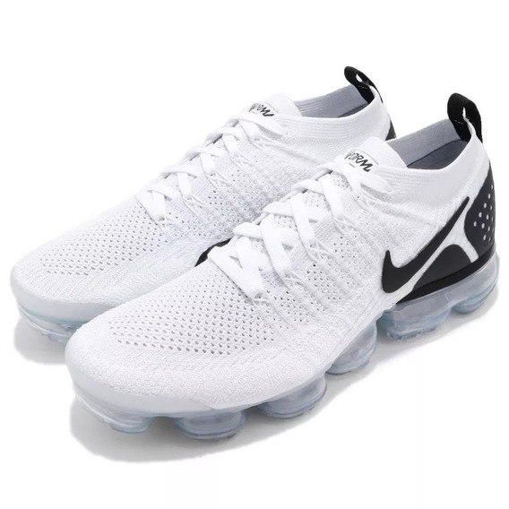 Tenis Nike Vapormax Flyknit 2.0 Air Original White And Black