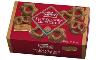 Pão De Mel Chocolate Schokoladen Lebkuchen Lambertz 500g