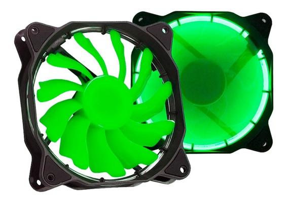 Cooler Fan Led 120mm Gabinete Azul Verde Vermelho Branco Pc