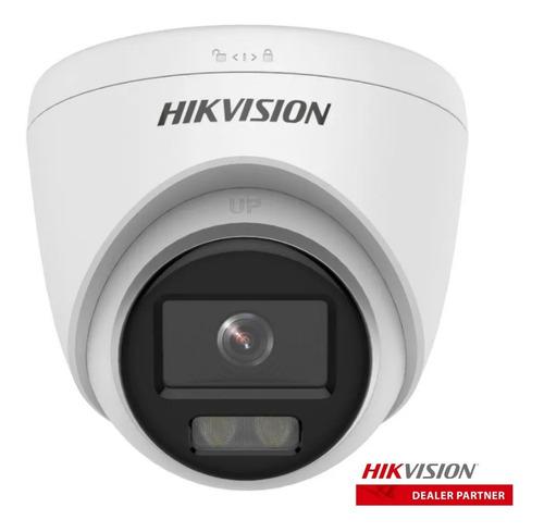Cámara Ip Hikvision Colorvu Domo 2mpx 1080p Full Color 24hs