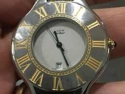 Relógio Cartier Original Masculino Must De Cartier Masculino