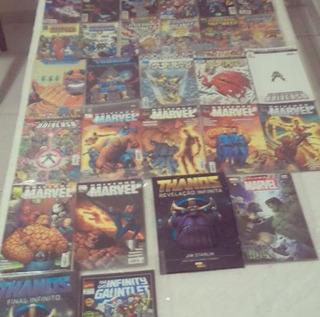 Hq Thanos Saga Guerra Cruzada Desafio Infinita