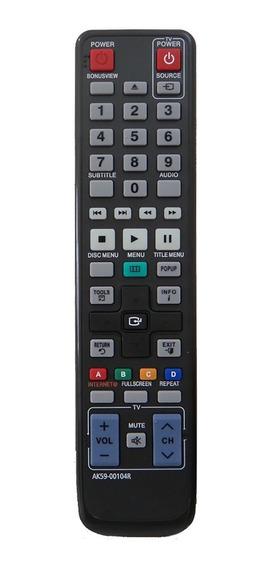 Controle Remoto Blu-ray Samsung Ak59-00104r Bd-c5500 Bdc6900