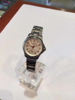 Reloj Pulsera Victorinox Dama Acero Fecha Sumergible