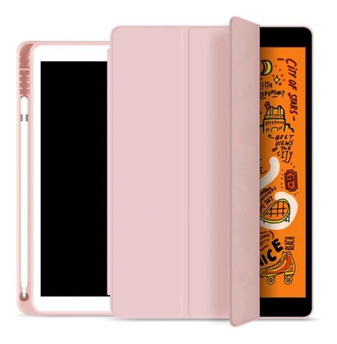 Capa Smartcase Apple iPad Air 3 10.5 Suporte P/ Pencil Rose