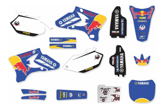 Adesivos Moto Trilha Yamaha Yz 250 450 2005 0,20mm Ca-15893