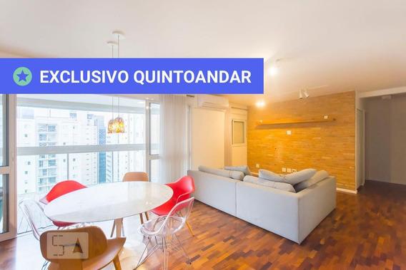 Apartamento No 16º Andar Mobiliado Com 2 Dormitórios E 2 Garagens - Id: 892968044 - 268044