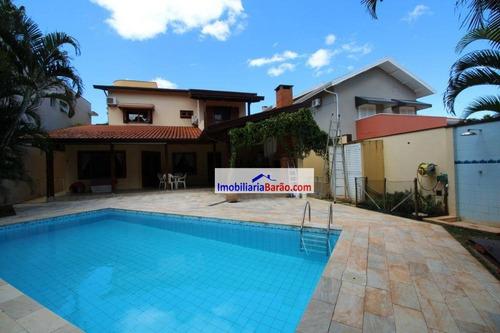 Casa Com 5 Dormitórios À Venda, 361 M² Por R$ 1.790.000,00 - Residencial Barão Do Café - Campinas/sp - Ca1434