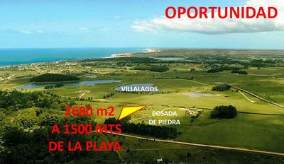 Oportunidad - Frente A Posada De Piedra 1500 Mts De La Playa