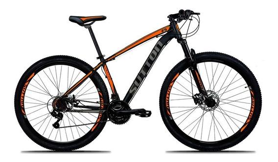 Bicicleta 29 Sutton 21v Disc Hidráulico Tamanhos Especias