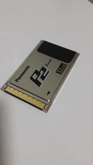 Cartão P2 Panasonic Hvx200