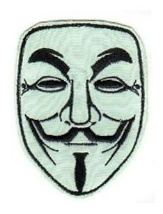 Parche Bordado V De Vendetta Cosplay Souvenir