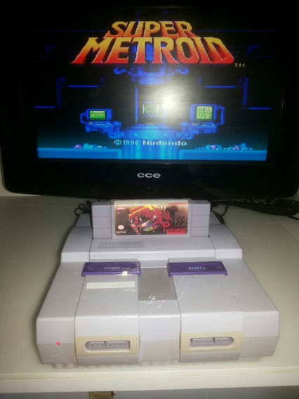 Fita Do Super Nintendo Super Metroid Original Frete Grátis