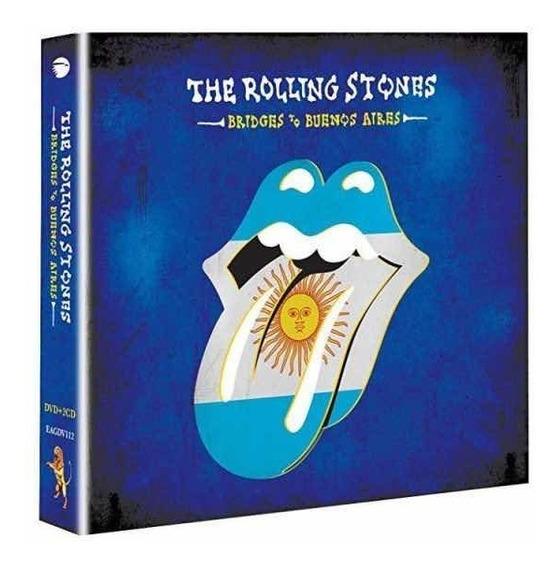 Rolling Stones Bridges To Buenos Aires 2 Cd + Dvd Nuevo 2019