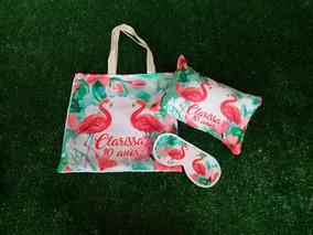Lembrancinhas Festa Flamingo (15 Kits)