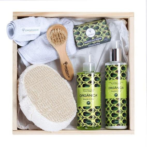 Kit Para Banho Natural E Vegano - Meu Momento - Orgânica