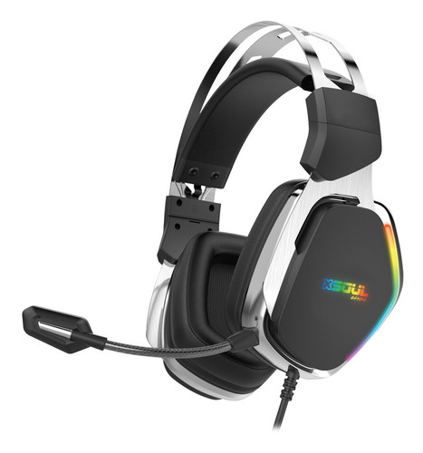 Auricular Gamer Pc Ps4 7.1 Luces Led Rgb Microfono Play Ps5