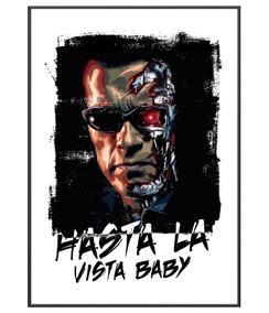 Poster Exterminador Do Futuro Hasta La Vista Baby Team Six