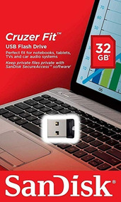 Kit 03 Pen Drive 32gb Fit - Sandisk Nano Lacrado Original