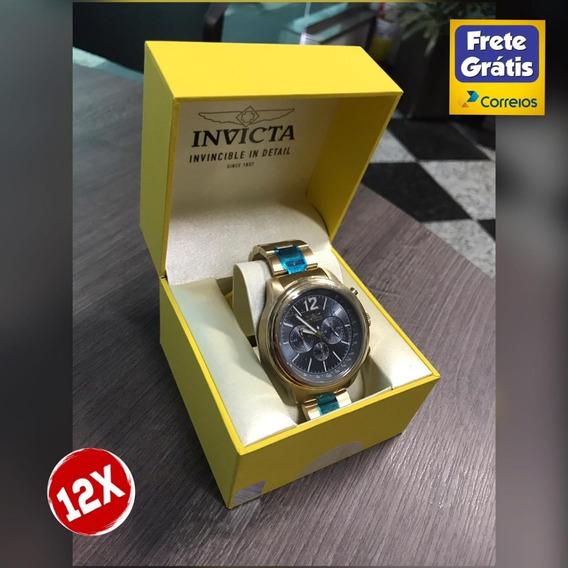 Relógio Invicta Aviator Quartz Zero Original Promoção