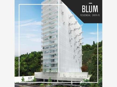 Departamento En Renta Blum Residencial, Santa Fe ***