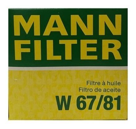 Filtro Aceite  W 67/81  (mann Filter)